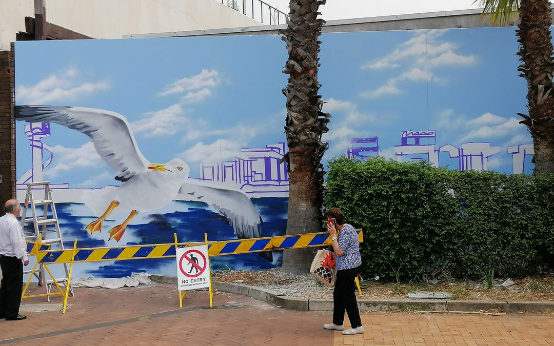 The Wall Mural Painting Process